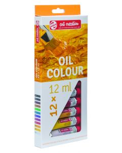 Talens Art Creation Oil Colour Paint Set 12 x 12ml I Art Supplies