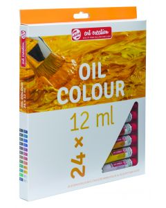 Talens Art Creation Oil Colour Paint Tube Set 24 x 12ml I Art Supplies