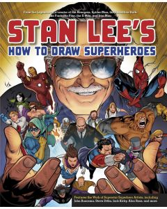 Stan Lee's How to Draw Superheroes Art Guide & Techniques Book