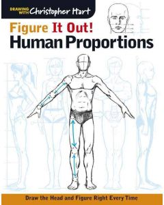 Figure It Out: Human Proportions I Book I Art Supplies