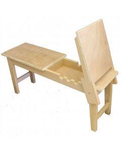 Wooden Platform Donkey Easel I Art Supplies
