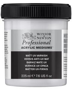 Winsor & Newton Professional Acrylic Matt UV Varnish 225ml I Art Supplies