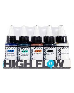 Golden High Flow Acrylic Set 10 x 30ml I Paint I Art Supplies