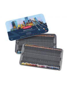 Derwent Procolour Professional Quality Colour Pencil 72 Tin I Pencils I Art Supplies