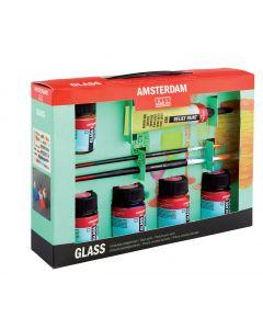 Amsterdam Deco Glass Paint 5 x 16ml Set