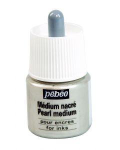 Pebeo Pearl Medium 45ml I Ink I Art Supplies