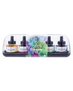Talens Ecoline Liquid Watercolour 5 x 30ml Primary Colours Set