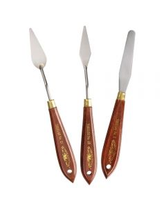 Winsor & Newton Wooden Handle Painting Knives