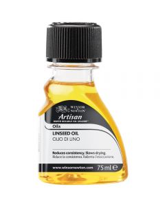 Winsor & Newton Artisan Water Mixable Oil Colour Linseed Oil 75ml
