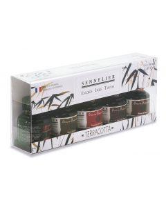 Sennelier Ink Terracotta Colours Set 5 x 30ml