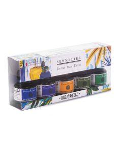 Sennelier Ink Majorelle Colours Set 5 x 30ml