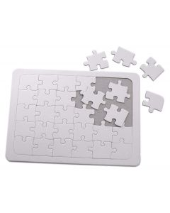 Major Brushes Blank Jigsaw to Paint & Colour (30 Piece)
