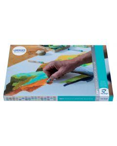 Van Gogh Soft Pastels Landscape Selection 48 Set