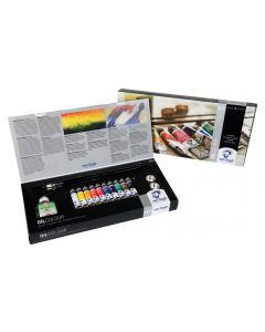 Van Gogh Oil Colour Set 10 x 20ml Tubes + Accessories