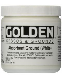 Golden Absorbent Ground Primer for Watercolour 237 ml