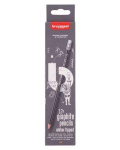 Bruynzeel 12 x HB Graphite Pencil Set