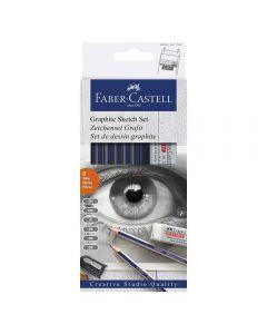 Faber-Castell Graphite Pencil Sketch Set
