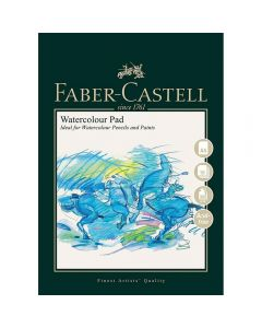 Faber-Castell Watercolour Pad Wire Bound A4