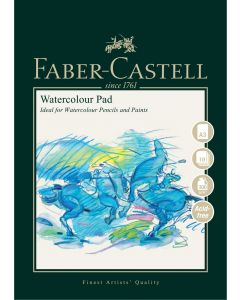 Faber-Castell Watercolour Pad Wire Bound A3