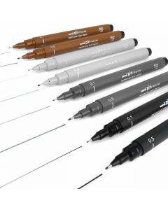 Uni-Ball Pin Fine Line Drawing Pens