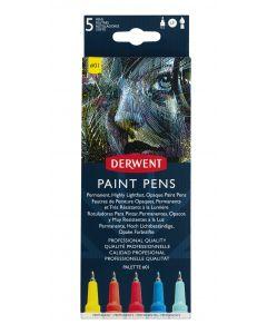Derwent Paint Pens Colour Set #1