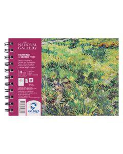 Van Gogh The National Gallery Drawing & Sketch Paper Pad 14.8 x 21cm