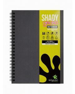 Artgecko Shady Gecko Black Card Sketchbooks