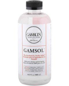 Gamblin Gamsol 100% Pure Odourless Mineral Spirit