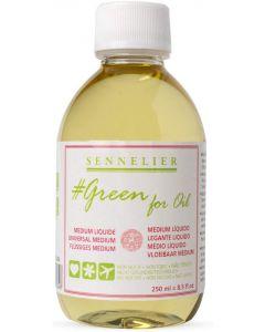 Sennelier Green for Oil Liquid Medium 250ml