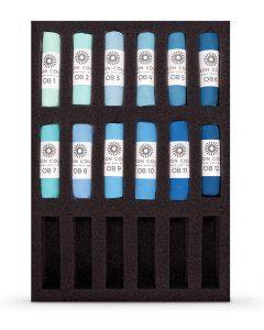 Unison Soft Pastels Ocean Blue 1-12 Colour Set