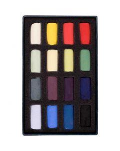 Unison Colour Soft Pastels Starter Half Stick 16 Set