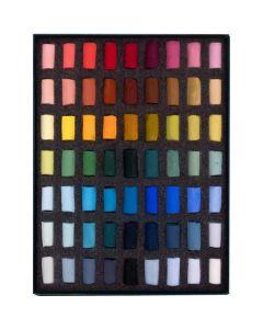 Unison Colour Soft Pastels Starter Half Stick 63 Set