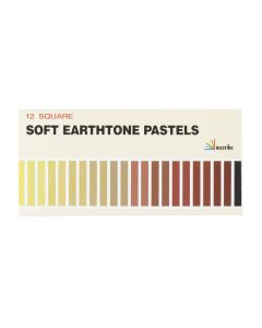 Inscribe 12 Square Soft Earth Tone Pastels
