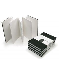 Sennelier Black Linen Concertina Urban Sketchbook 10 x 15cm