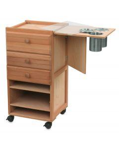 Jullian Studio Cabinet with 3 Drawers