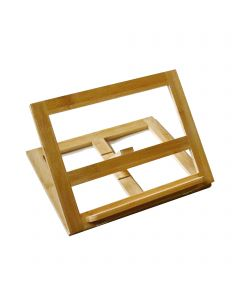 Bamboo Book Stand Table Top Easel