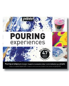 Pebeo Pouring Experiences Complete 47 Piece Kit