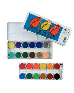 Talens Opaque Watercolours 24 Pan Tin Set