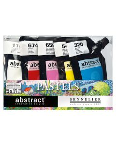 Sennelier Abstract Paint Pastel Set 5 x 120ml