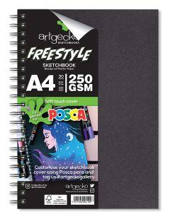 Artgecko Freestyle Bleedproof Marker Paper Sketchbook A4