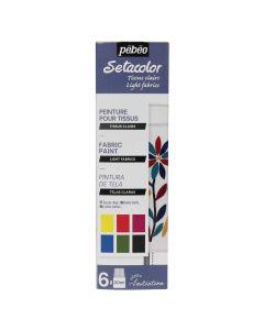 Pebeo Setacolor Light Initiation Set 6 x 20ml