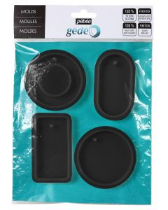 Pebeo Gedeo Silicone Geometric Moulds Set of 4