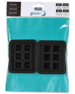 Pebeo Gedeo Silicone Cubic Mould Set of 2
