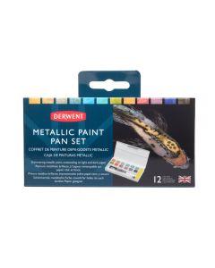 Derwent Metallic Paint Pan Set