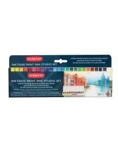 Derwent Inktense Paint Pan Studio Set