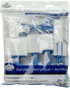 Royal & Langnickel Foam Accessory Artist Pack (22 Piece)