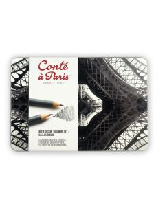 Conte a Paris 12 Assorted Graphite Pencils Drawing Set