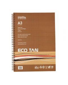 Seawhite of Brighton Eco Tan Corn Crush Paper Pad A3