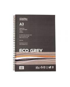 Seawhite of Brighton Eco Grey Corn Crush Paper Pad A3