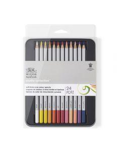 Winsor & Newton Studio Collection Colour Pencils 24 Set